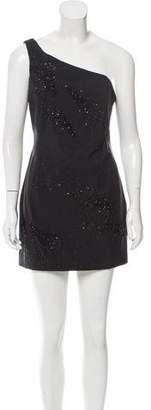 Nina Ricci One-Shoulder Mini Dress w/ Tags