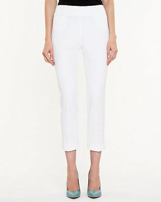 Le Château Cotton Gabardine Slim Leg Crop Pant