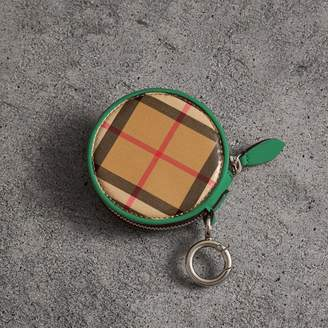 Burberry Coated Vintage Check Coin Case