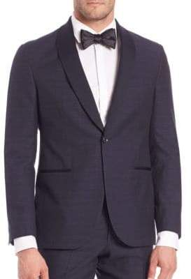 Saks Fifth Avenue MODERN Wool-Blend Tuxedo Jacket