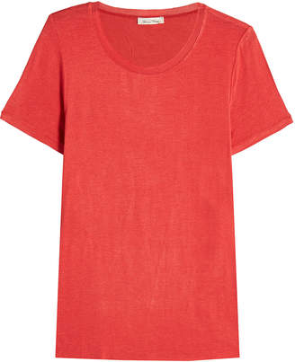 American Vintage Jersey T-Shirt with Wool