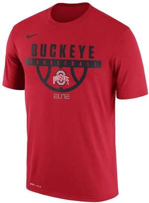 Nike Men's Ohio State Buckeyes Dri-FIT Basketball Tee