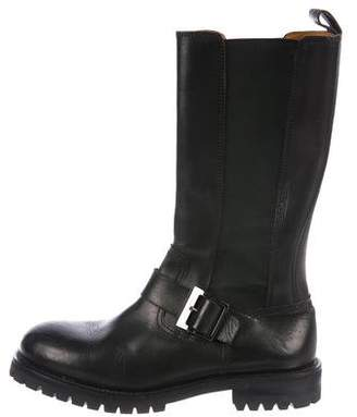 Dolce & Gabbana Leather Chelsea Tall Boots