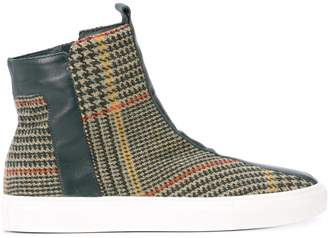 Alberto Fermani plaid ankle boots