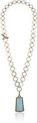 Robert Lee Morris Womens Moonrise Mother of Pearl Adjustable Pendant Necklace