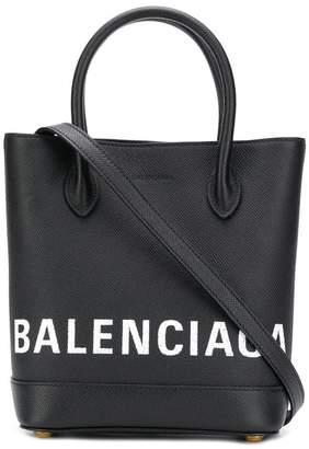 Balenciaga Ville Xxs Leather Tote Bag