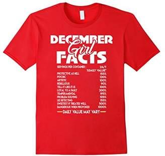 December Girl Facts T-shirt