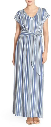 Women's Eci Stripe Maxi Dress $88 thestylecure.com
