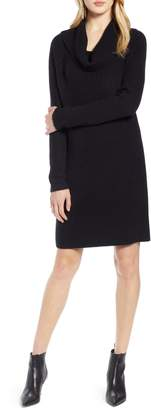 Halogen Cowl Neck Sweater Dress