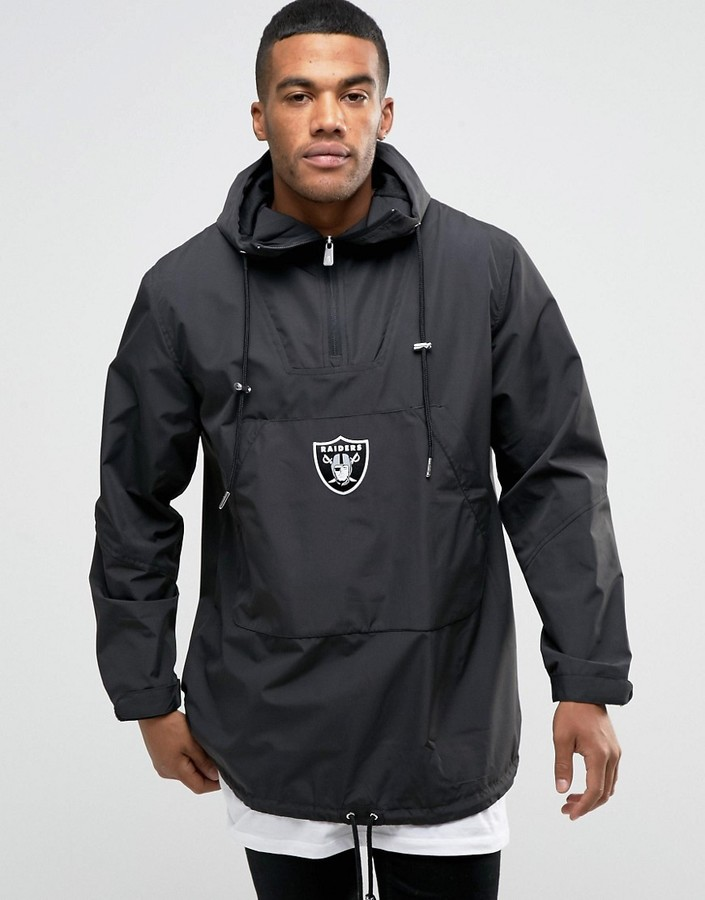 New Era Raiders Poncho Overhead Jacket