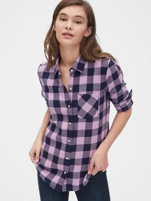 Gap Plaid Flannel Shirt
