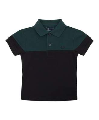 Fred Perry Kids Panelled Pique Shirt