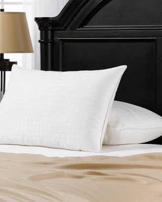 +Hotel by K-bros&Co Exquisite Set Of 2 Overstuffed Gel Filled Dobby-Box Shell Side/Back Sleeper Pillows