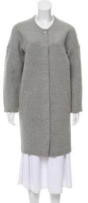 Alexander Wang Oversize Collarless Coat