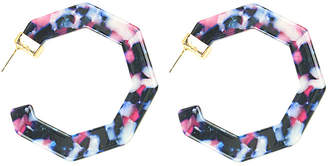 Eye Candy Los Angeles Hannah Resin Statement Earrings