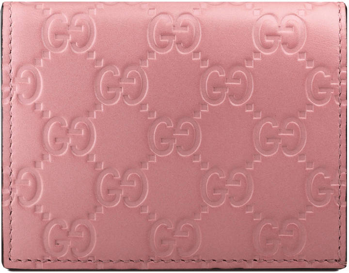Gucci Gucci Signature card case
