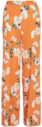Quiz Orange Floral Palazzo Trousers