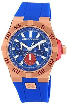 """Vince Camuto Men's VC/1010BLRG """"The Master"""" Stainless Steel Watch"""