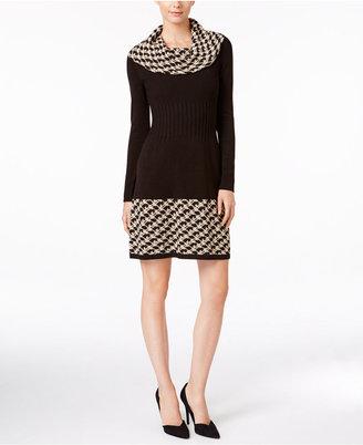 Jessica Howard Cowl-Neck Sweater Dress $79 thestylecure.com