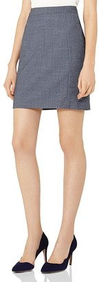 REISS Russell Tailored Skirt $220 thestylecure.com