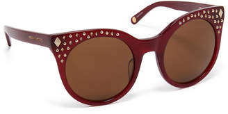 Henri Bendel Eliza Round Sunglasses