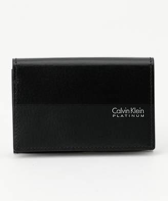 Calvin Klein (カルバン クライン) - Calvin Klein men 【新作入荷】ヘイズ小物 名刺入れ(C)FDB
