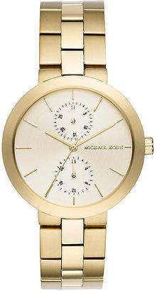 Michael Kors Ladies' Gold Tone Bracelet Watch