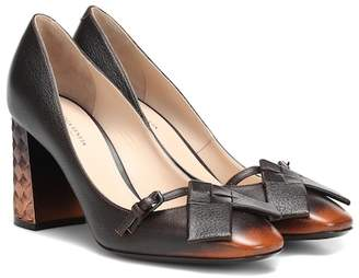 Bottega Veneta Cherbourg leather pumps