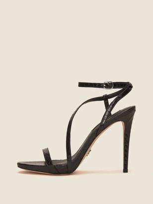5e520843e9f DKNY Stra Heeled Ankle-Strap Sandal