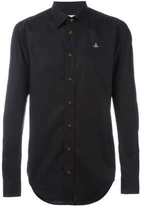 Vivienne Westwood Man chest logo shirt
