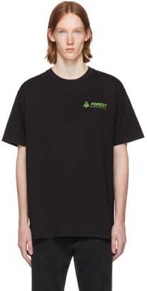 Raf Simons Black Forest T-Shirt