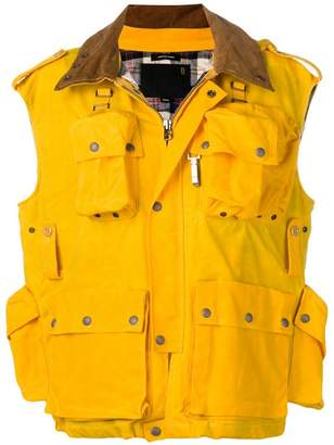 R 13 multiple pocket gilet