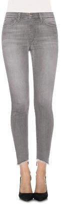 Women's Joe's Cool Off - Charlie Step-Up Hem High Rise Skinny Jeans $179 thestylecure.com