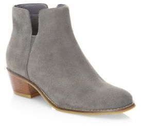 Cole Haan Abbot Suede Booties $200 thestylecure.com