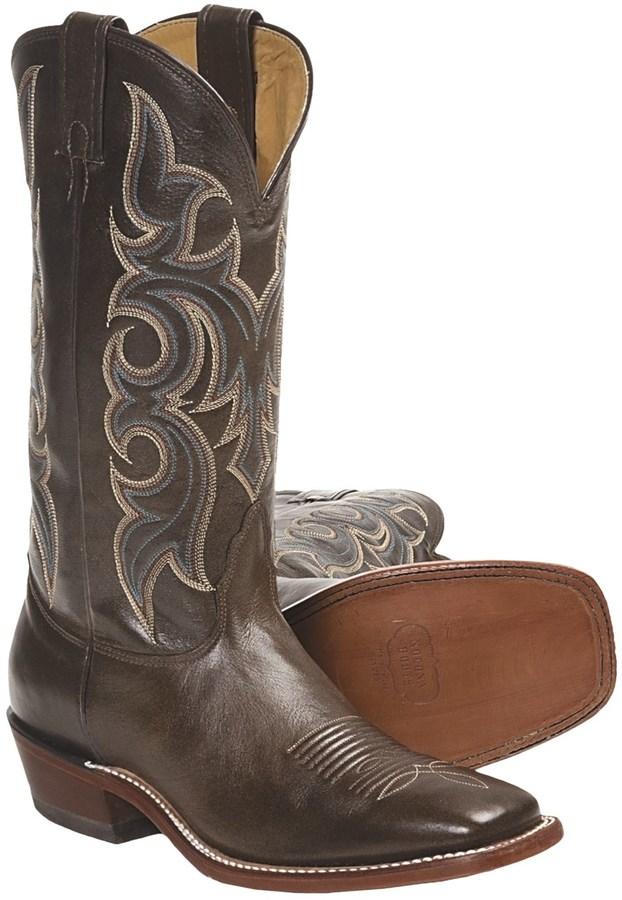 Nocona Plato Calfskin Cowboy Boots (For Men)
