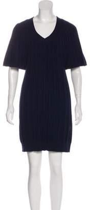 Calvin Klein Collection Short Sleeve Mini Dress Navy Short Sleeve Mini Dress