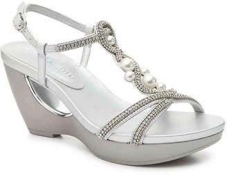 Andrew Geller Allisandra Wedge Sandal - Women's