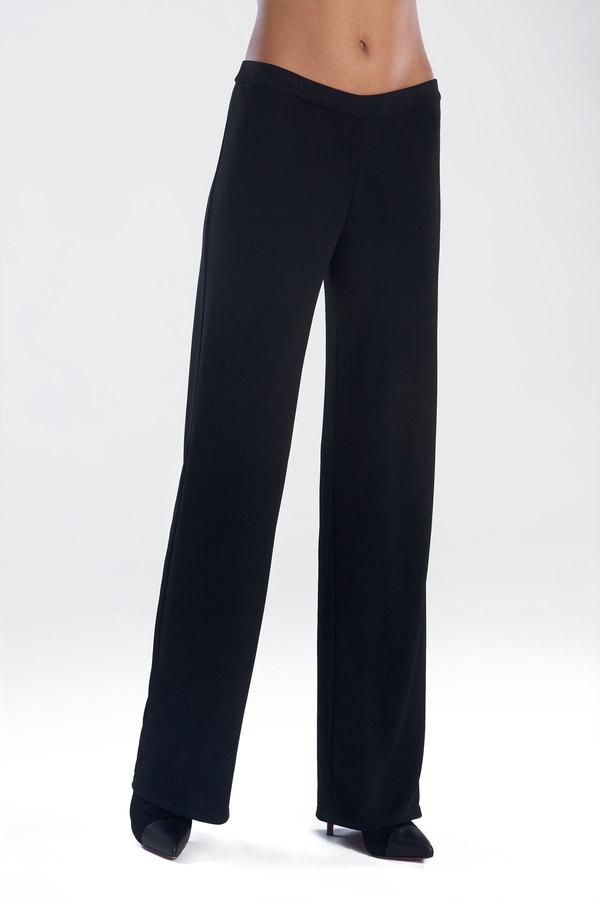 Josie Natori Matte Jersey Wide Leg Pant