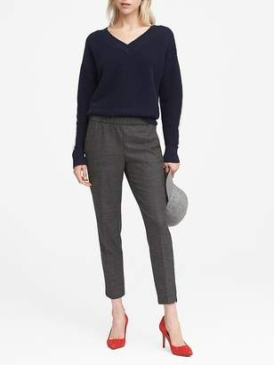Banana Republic Petite Hayden Tapered-Fit Pull-On Pant