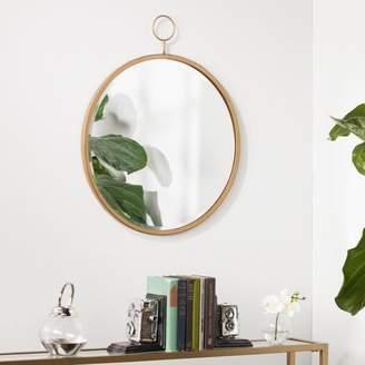 Southern Enterprises Lorgo Decorative Wall Mirror, Antique Bronze
