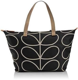 Orla Kiely Core Linear Zip Shopper Shoulder Bag