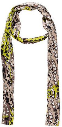 Diane von Furstenberg Abrstract Print Scarf $65 thestylecure.com