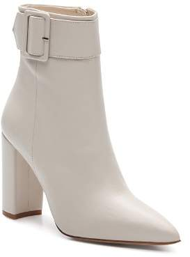 The Kooples Women's Buckled High-Heel Leather Booties