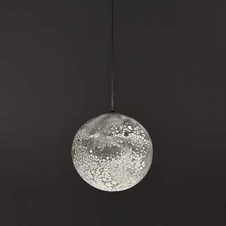 Phased LED Moon Pendant Large