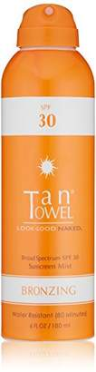 TanTowel Tan Towel SPF 30 Bronzing Sunscreen Mist