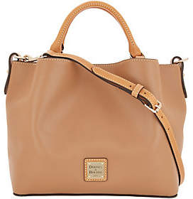 Dooney & Bourke Smooth Leather Small BrennaSatchel Handbag