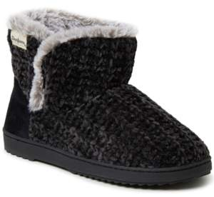 Dearfoams Women's Chenille Knit Slipper Boot, Online Only