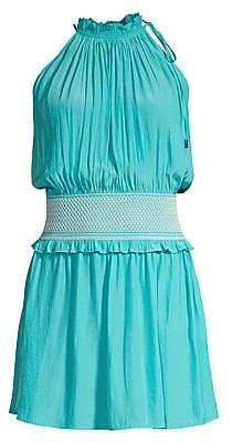 Ramy Brook Women's Blaise Smocked Waist Dress