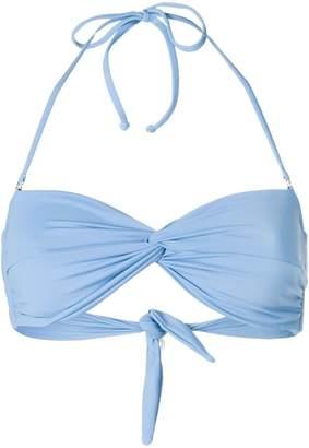 Mara Hoffman ruchéd bikini top