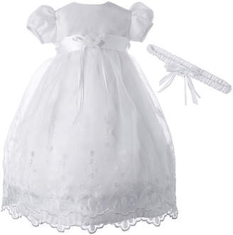 Keepsake Christening Dress and Headband Set - Baby Girls